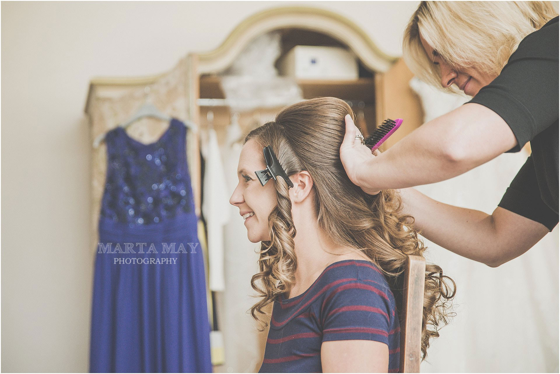 Philippa Torrance Wedding Hair Talgarth, Mid Wales